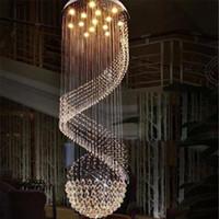 Новый современный K9 ясный кристаллический Потолочный светильник Подвеска лампа Люстра Свет Внутреннее освещение LED Потолочный светильник Гостиная Коридор Люстры