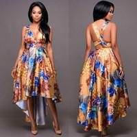 2017 Primavera Mulheres Africano Sexy Print Flower Maxi Vestido Vintage Africano Dashiki Vestidos Mulher Backless Strapless V-neck Bodycon Long Vestido