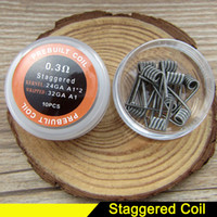 Staggered Nichrome coil 0. 3ohm Pre Built Coils Heating Resis...
