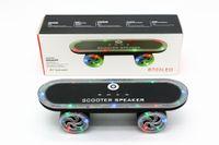 Mini bluetooth speakers LED colorful Flash Kick scooters Spe...