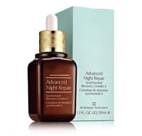 Famoso marca hidratante blanqueador Anti-envejecimiento cuidado de la piel cuidado de la piel Advanced Night Repaire Syncronized Recovery Reparación 50ml