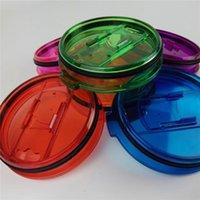 Yeti 30oz Couvercles Couvercles 10cm Diametera Splash Couvercles anti-éclaboussures Splash Crystal Couvercles colorés Couvercles anti-éclaboussures Couvercles Couvercles YT-30