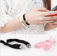 exo ex' act logo 10pcs lot lace bracelet free shipping
