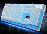 Wired Gaming 3- color Backlight Keyboards Multimedia Breathin...