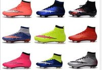 New High Quality Mercurial Superfly 4 FG Soccer Boots CR7 Cl...