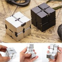 Luxury EDC Infinity Cube Mini для снятия стресса Fidget Anti Anxiety Stress Finger Toys CCA6289 100шт.