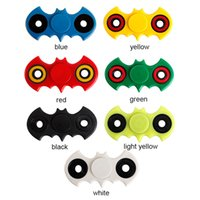 New Batman Hand Spinner Vente en gros Fidget doigts doigts spires Adultes Stress Relief Kids Gift with Retail Box 7 Couleurs