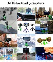 Gekkopod Mini Support De Trépied Support Portable / Support pour iPhone Gopro huawei yi Sj4000 SJCAM c30 Accessoires de caméra de sport