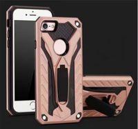Phantom Series 2in1 Hybird Phone Case Kichstand TPU Metal Fi...