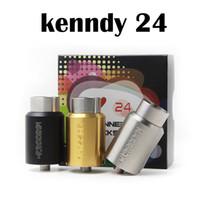 Кеннеди 24 Трикстер RDA Форсунка 2 Сообщение выравнивать воздушный поток 3-х цветов Kennedy Трикстер 24 Испаритель E сигарета против Кеннеди RDA 25 Горячие Продажа