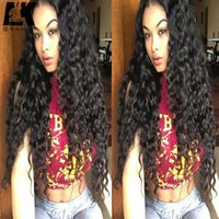Lace Front Wig 180% Density Full Lace Human Hair Wigs For Bl...