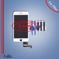 Pour iPhone 7 Plus Affichage LCD Touch Digitizer Assemblage Remplacement de réparation pour téléphone 7 Plus 5.5 '' avec des outils Livraison gratuite DHL