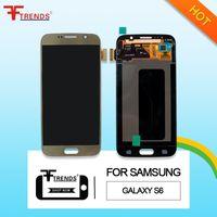 Écran LCD de haute qualité pour Samsung Galaxy S6 LCD Écran tactile de l'écran tactile Digitizer Assemblée G920 G920R4 G920T G920P G920V G920A G920F