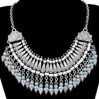 Multi- Layers Necklaces & Pendants Boho Gypsy Ethnic Vintage ...