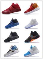 1: 1 Quality with Original Box Kyrie 2 men basketball shoes K...