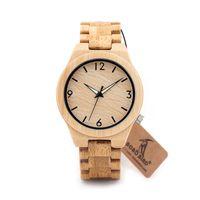 Montres-bracelets en bois personnalisé pour hommes