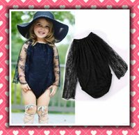 Baby Lace Long Sleeve Rompers Onesies Infant Toddler Ruffles...