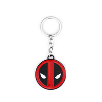 20PCS Lot Hot Movie Deadpool Keychain For Men Women Jewelry ...
