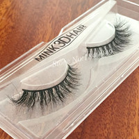 1 Box 1 Pair Packaging Mink 3D False Eyelashes Natural Criss...