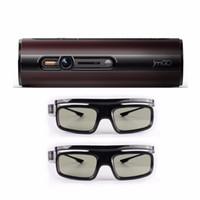 Wholesale- JmGO P1 3D DLP Projector portable pocket Smart The...