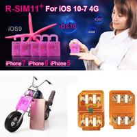 R SIM 11+ RSIM11 плюс r sim11 + rsim 11 карта разблокировки для iPhone 5 5s 6 6plus iphone7 iOS 7 8 9 10 ios7-10.x GSM SB SPRINT LTE 4G 3G