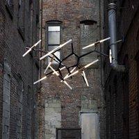 Ролл Хилл Агнес Подвесной светильник Минималистские Art Decoration Отделение Агнес Свет лампы Известный итальянский дизайн Гостиная Агнес Люстра Light