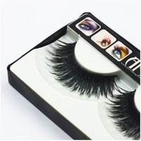Black Handmade False Eyelashes 1- 1. 5cm Long Popular Messy Na...