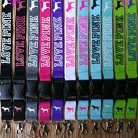 VS LOVE PINK Lanyard Neck Strap Lanyard With silver metal Cl...