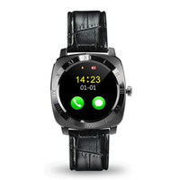X3 Smartwatch Bluetooth Smart Watch Android avec 0.3M Appareil photo MTK6261D Smartwatch téléphone Android Micro Sim TF carte avec package de détail
