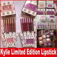 KYLIE Limited Edition Kylie Comestic Liquid матовая губная помада для губ глянцевый макияж 12 цветов DHL