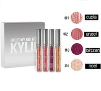 Top Quality Kylie Holiday Edition kit 4pcs Matte kylie jenne...