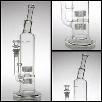 Mobius verre Stereo 35cm hauteurs 60mm bubbler matrice bong Tubes d'eau en verre 14mm bongs