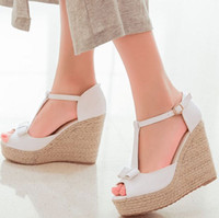 High quality Summer style comfortable Bohemian Wedges Women ...