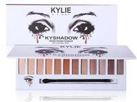 Новое прибытие Kylie 12color kyshadow порошок Eyeshadow Прессованные тени для век матовые гель водонепроницаемый глаз версия тень 3 DHL Free