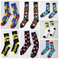 Poke Pikachu Socks Cosplay Poke Ball Socks Cartoon Bulbasaur...