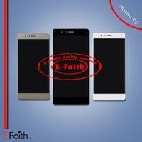 Pour Huawei Ascend P8 Lite Plein Nouveau Numériseur D'Écran Tactile D'Écran Avec Le Cadre Livraison Gratuite