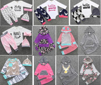 4 sets lot(mix styles and sizes) 2016 New style baby clothin...