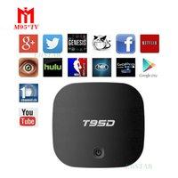 T95D Android 5. 1 TV BOX RK3229 1GB 8GB HDMI2. 0 2. 4G WIFI KOD...