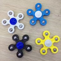 EN STOCK!! Five-Pointed Star Spinner Fidget Toy Hand Spinner Enfants Adultes Focus Keep Hands Busy High Quality Fidget Toy DHL Livraison gratuite