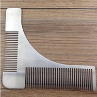 Beard Shaping Tool Man Gentleman Beard Trim Template Hair Cu...