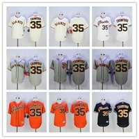 Brandon Crawford Jersey #35 SFG Giants Baseball Jersey Flexb...