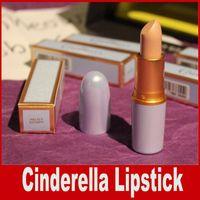 Cinderella Lipstick 12colors Mixed Lips Косметика для макияжа БЕСПЛАТНО КАК BUTTERFLY ROYAL BALL Водонепроницаемая помада DHL