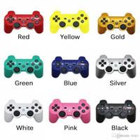 PS3 sans fil Bluetooth Game Controller pour PlayStation 3 PS3 Game Multicolor contrôleur Joystick pour Android Jeux vidéo avec emballage
