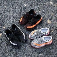 Kids Light shoes 350 V2 Boost Children Athletic Shoes kids R...