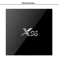 Factory Sale X96 Smart Android 6. 0 TV Box 4K Amlogic S905X Q...