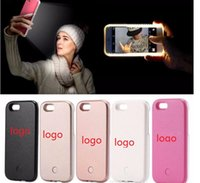 5 Colors LED Flash Light Case Selfie Phone Back Cover Shell ...