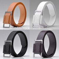 Men Faux Leather Men' s Accessory Belt 4Colors Length 41...