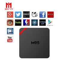 Mini M95 Smart Andriod6. 0 TV Box Amlogic S905X Set Top Box B...