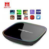 T95W pro Smart Android TV Box 2G 16G Amlogic S912 Media Play...