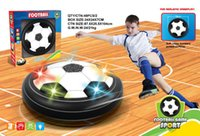 Musique Suspension LED Football Sport intérieur Levitate Jouets de football Balle de soccer Air Power pour l'interaction entre parents et enfants Jouet de décompression